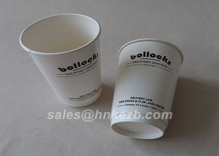 Environment Friendly 12oz Paper Vending Cups Disposable Paper Coffee Cups
