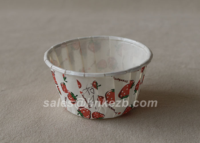 8 Oz Plain Custom Printed Ice Cream Paper Cups Disposable Paper Cup PE Coating